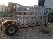 Прицеп тракторный для перевозки птиц в клетях